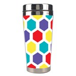 Hexagon Pattern  Stainless Steel Travel Tumblers Center