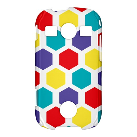 Hexagon Pattern  Samsung Galaxy S7710 Xcover 2 Hardshell Case