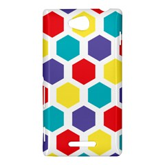 Hexagon Pattern  Sony Xperia C (S39H)