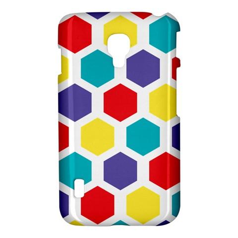 Hexagon Pattern  LG Optimus L7 II