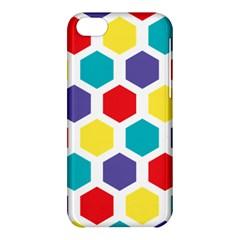 Hexagon Pattern  Apple iPhone 5C Hardshell Case