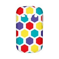 Hexagon Pattern  Samsung Galaxy S6810 Hardshell Case