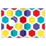 Hexagon Pattern  Kindle Fire HDX Flip 360 Case Front