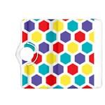 Hexagon Pattern  Kindle Fire HDX 8.9  Flip 360 Case Front