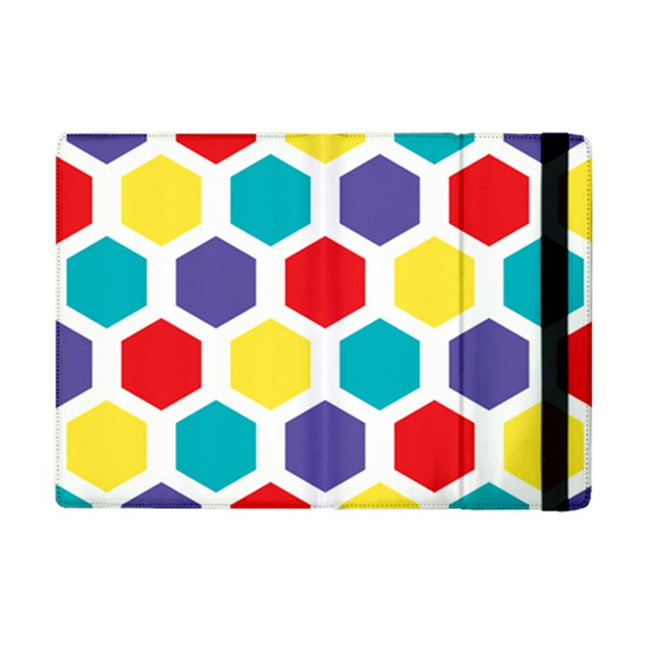 Hexagon Pattern  iPad Mini 2 Flip Cases