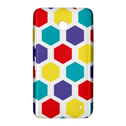 Hexagon Pattern  Nokia Lumia 630