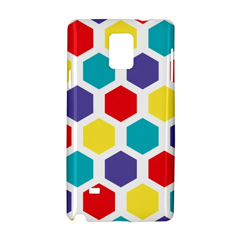 Hexagon Pattern  Samsung Galaxy Note 4 Hardshell Case