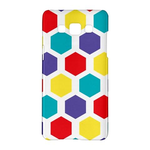 Hexagon Pattern  Samsung Galaxy A5 Hardshell Case