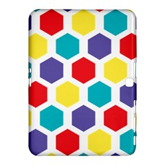Hexagon Pattern  Samsung Galaxy Tab 4 (10.1 ) Hardshell Case