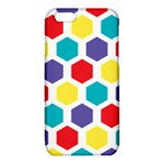 Hexagon Pattern  iPhone 6/6S TPU Case Front