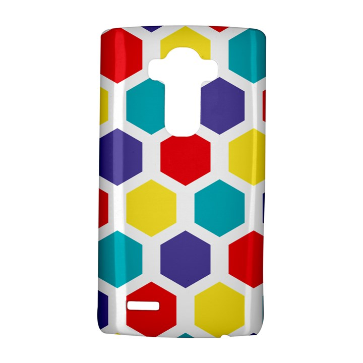 Hexagon Pattern  LG G4 Hardshell Case