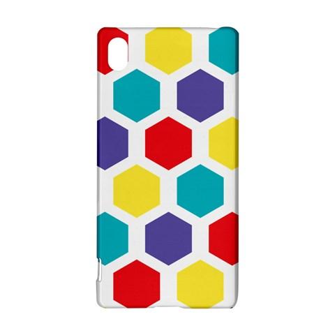 Hexagon Pattern  Sony Xperia Z3+