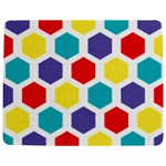 Hexagon Pattern  Jigsaw Puzzle Photo Stand (Rectangular) Front