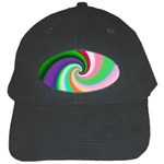Colorful Spiral Dragon Scales   Black Cap Front