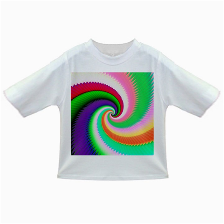 Colorful Spiral Dragon Scales   Infant/Toddler T-Shirts