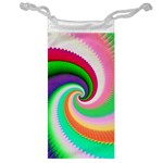 Colorful Spiral Dragon Scales   Jewelry Bags Front