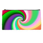 Colorful Spiral Dragon Scales   Pencil Cases Front
