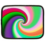 Colorful Spiral Dragon Scales   Netbook Case (XXL)  Front