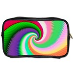 Colorful Spiral Dragon Scales   Toiletries Bags Front