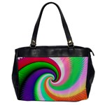 Colorful Spiral Dragon Scales   Office Handbags Front