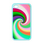Colorful Spiral Dragon Scales   Apple iPhone 4 Case (Color) Front