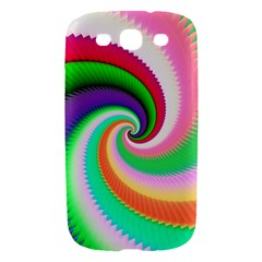 Colorful Spiral Dragon Scales   Samsung Galaxy S III Hardshell Case