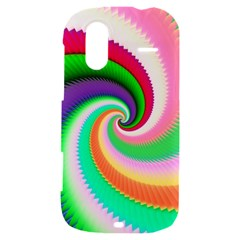 Colorful Spiral Dragon Scales   HTC Amaze 4G Hardshell Case