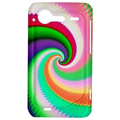 Colorful Spiral Dragon Scales   HTC Incredible S Hardshell Case