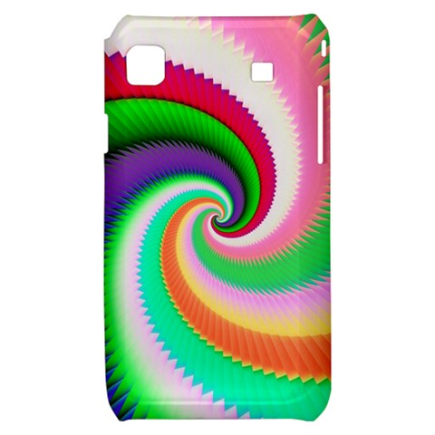 Colorful Spiral Dragon Scales   Samsung Galaxy S i9000 Hardshell Case