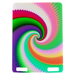 Colorful Spiral Dragon Scales   Kindle Touch 3G