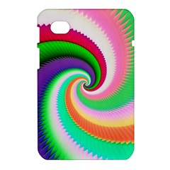 Colorful Spiral Dragon Scales   Samsung Galaxy Tab 7  P1000 Hardshell Case