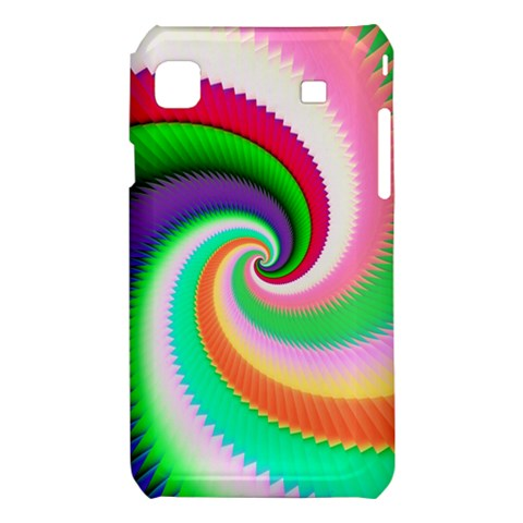 Colorful Spiral Dragon Scales   Samsung Galaxy S i9008 Hardshell Case