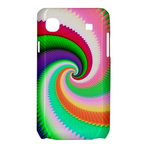 Colorful Spiral Dragon Scales   Samsung Galaxy SL i9003 Hardshell Case