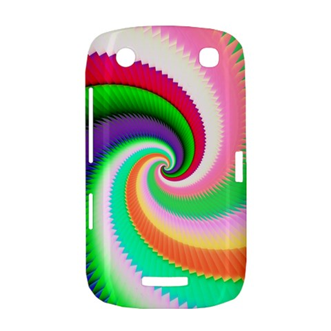 Colorful Spiral Dragon Scales   BlackBerry Curve 9380