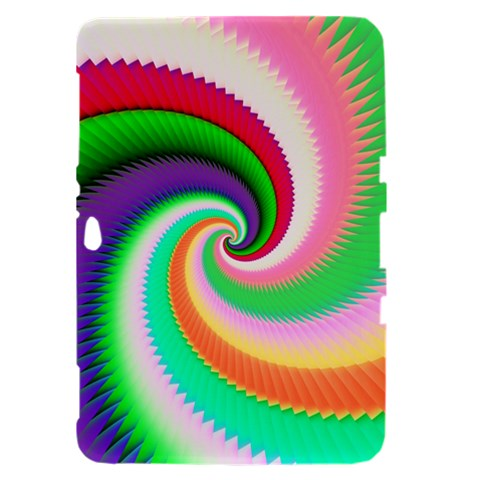 Colorful Spiral Dragon Scales   Samsung Galaxy Tab 8.9  P7300 Hardshell Case