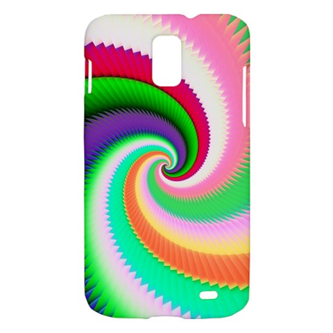 Colorful Spiral Dragon Scales   Samsung Galaxy S II Skyrocket Hardshell Case