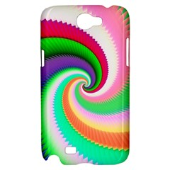 Colorful Spiral Dragon Scales   Samsung Galaxy Note 2 Hardshell Case