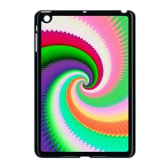 Colorful Spiral Dragon Scales   Apple Ipad Mini Case (black)