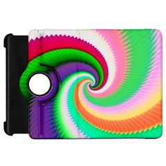 Colorful Spiral Dragon Scales   Kindle Fire HD Flip 360 Case