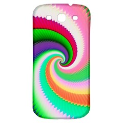 Colorful Spiral Dragon Scales   Samsung Galaxy S3 S III Classic Hardshell Back Case
