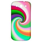 Colorful Spiral Dragon Scales   Samsung Galaxy S3 S III Classic Hardshell Back Case Front