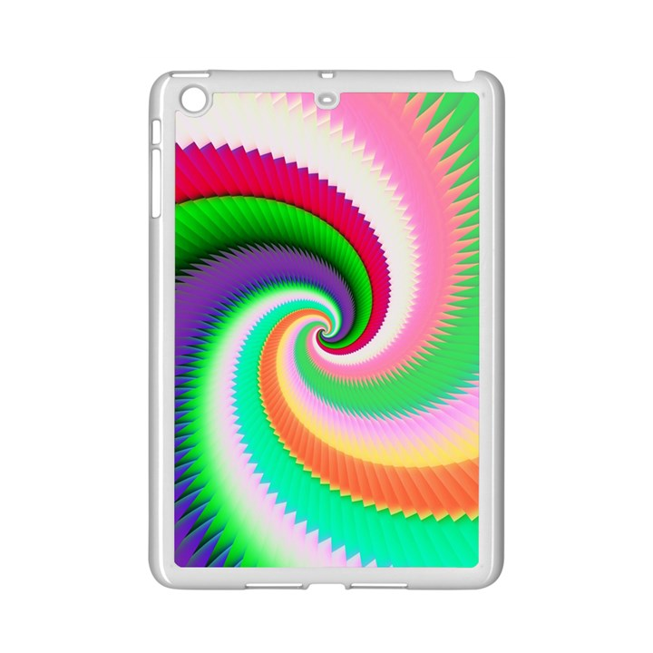 Colorful Spiral Dragon Scales   iPad Mini 2 Enamel Coated Cases