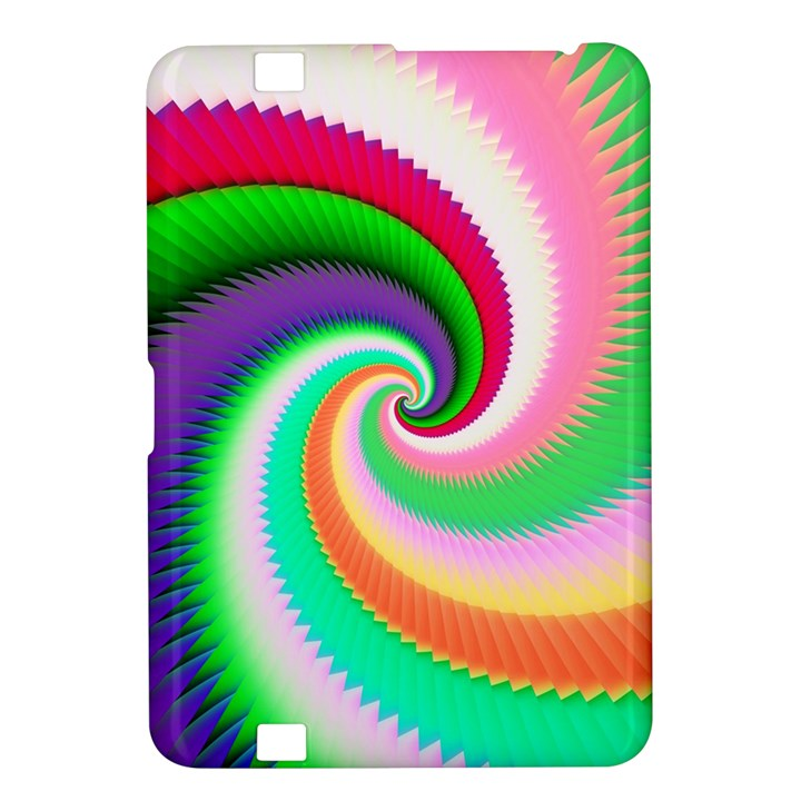 Colorful Spiral Dragon Scales   Kindle Fire HD 8.9