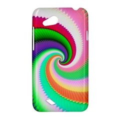 Colorful Spiral Dragon Scales   HTC Desire VC (T328D) Hardshell Case