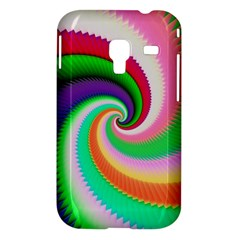Colorful Spiral Dragon Scales   Samsung Galaxy Ace Plus S7500 Hardshell Case