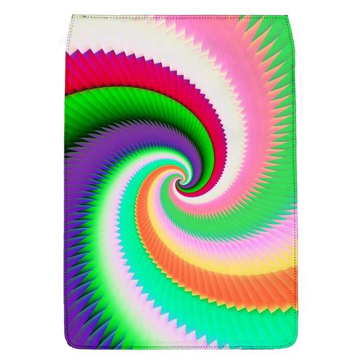 Colorful Spiral Dragon Scales   Flap Covers (L)