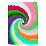 Colorful Spiral Dragon Scales   Flap Covers (S)  Front