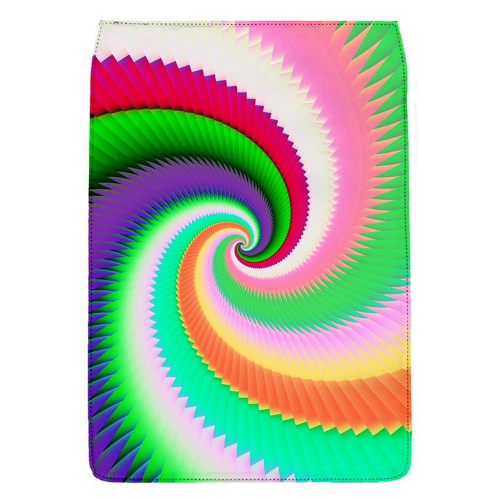 Colorful Spiral Dragon Scales   Flap Covers (S)