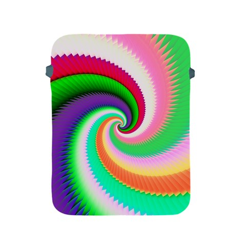 Colorful Spiral Dragon Scales   Apple iPad 2/3/4 Protective Soft Cases