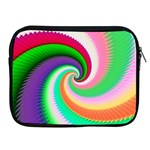 Colorful Spiral Dragon Scales   Apple iPad 2/3/4 Zipper Cases Front